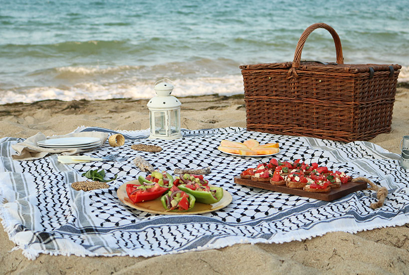 Tofu Tomato Bruschetta & The Perfect Beach Picnic | Tofobo Family