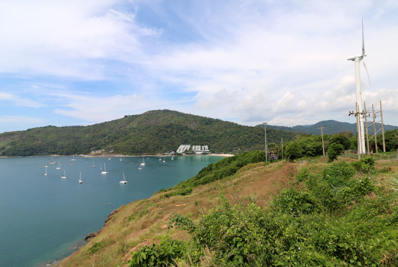 The beautiful Windmill Viewpoint in the south of Phuket | Tofobo Family